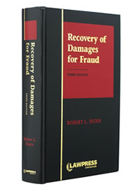 Recovery of Damages for Fraud, 3rd Ed.